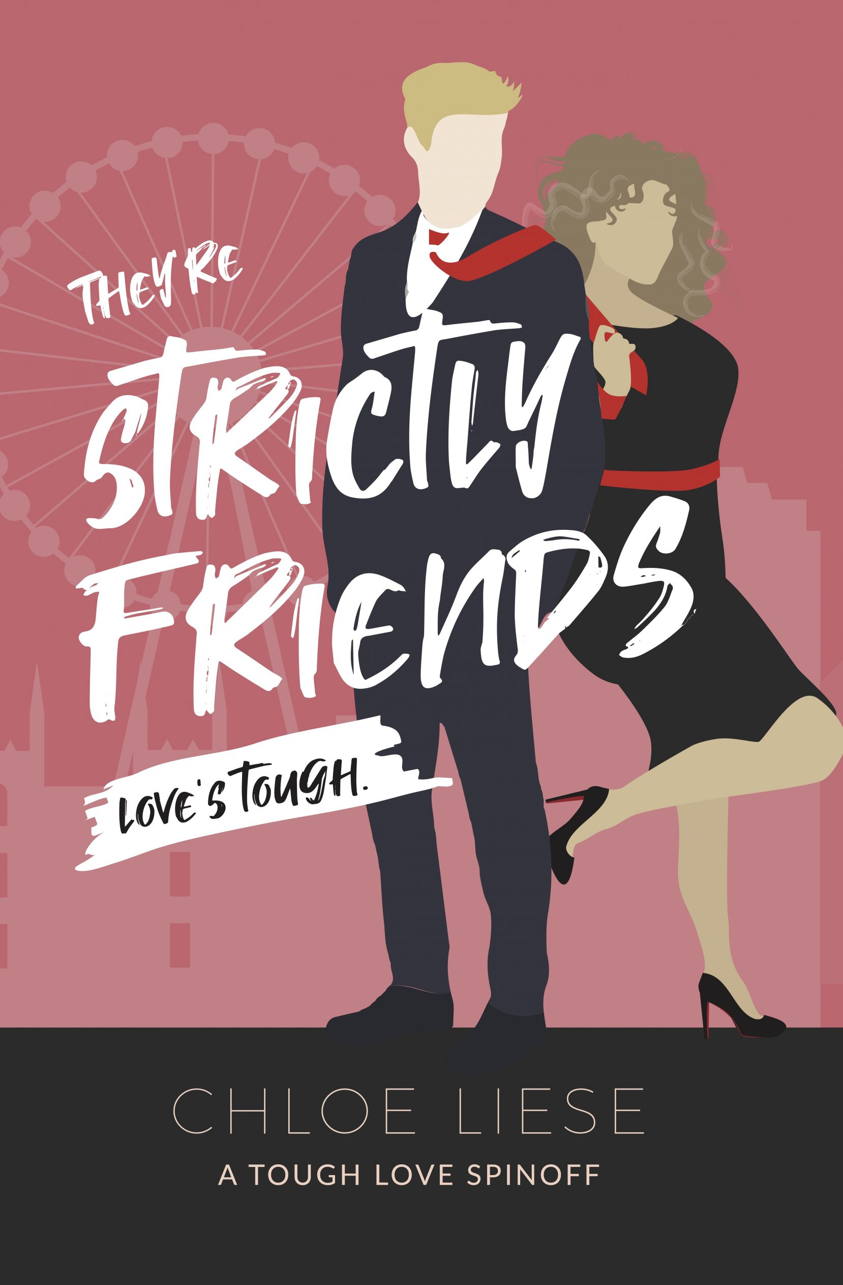 Strictly Friends book cover by Chloe Liese