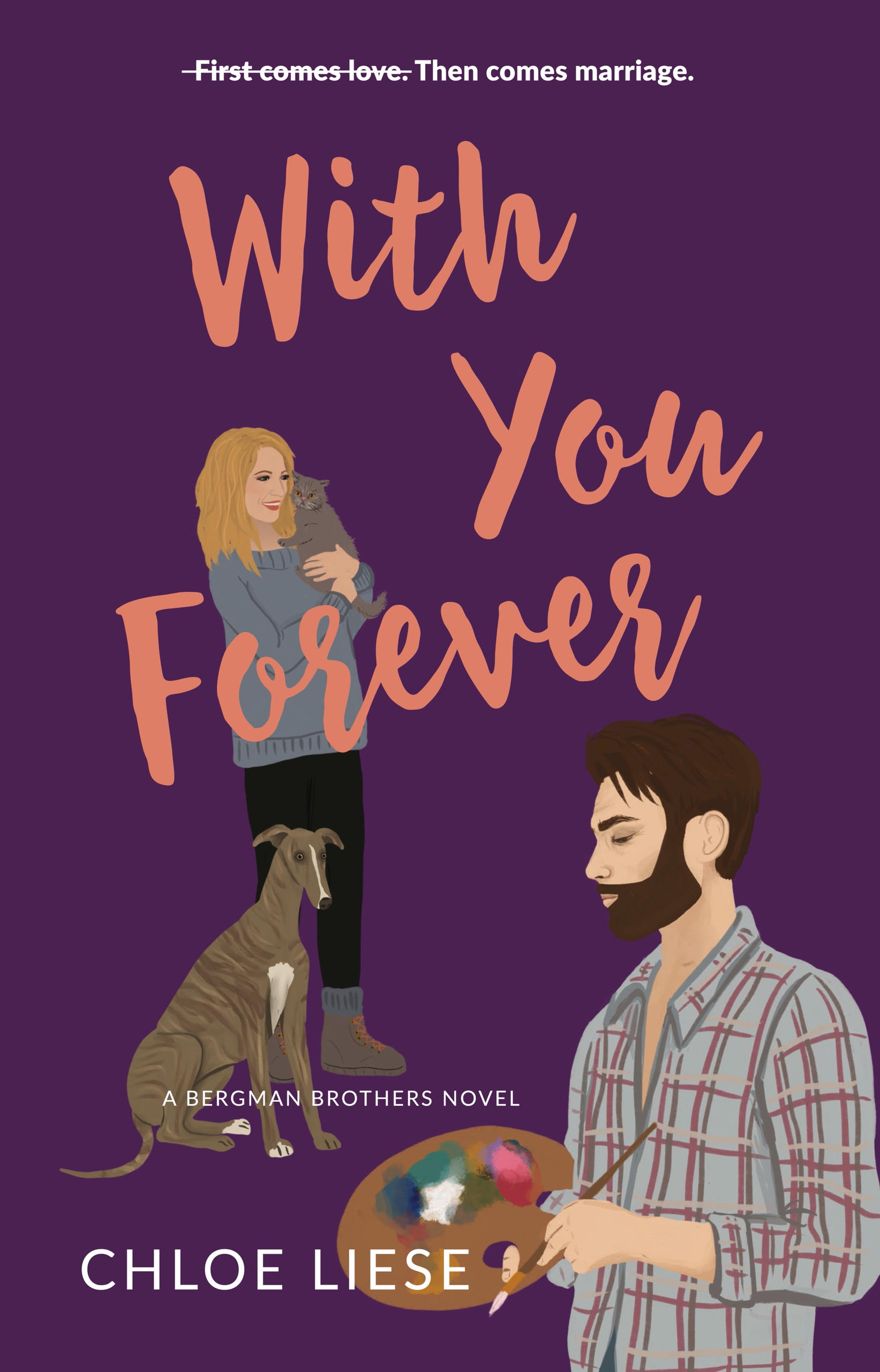 With You Forever book cover by Chloe Liese